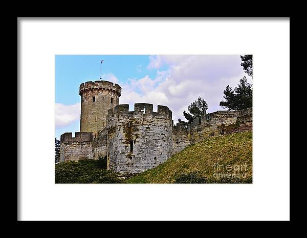 Travel Framed Print featuring the photograph English History by Elvis Vaughn