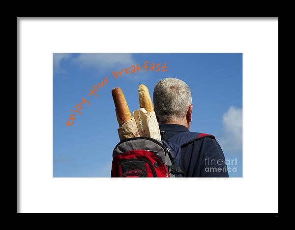 Europe Framed Print featuring the photograph Enjoy Your Breakfast by Heiko Koehrer-Wagner