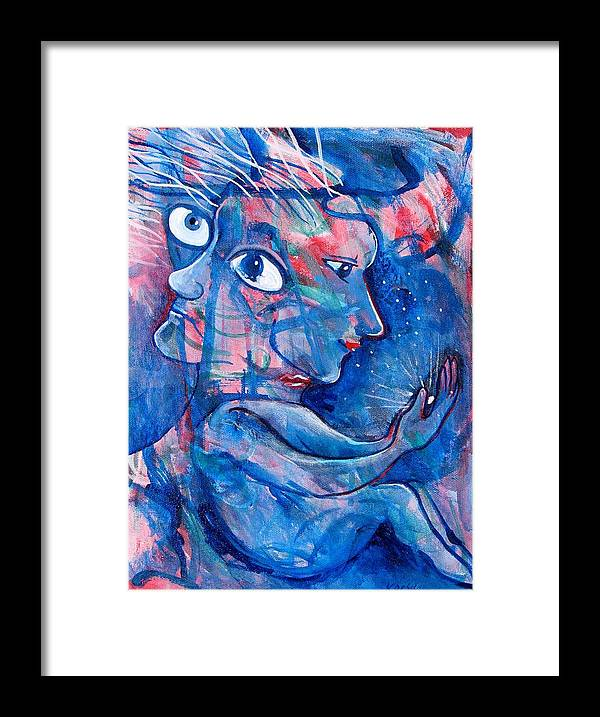 Magic Framed Print featuring the painting Enlightened by Rollin Kocsis
