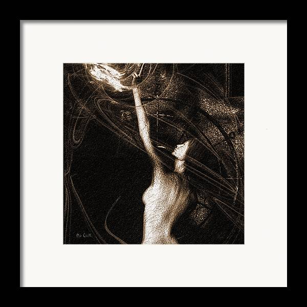 Ghost Framed Print featuring the photograph Entities Touch by Bob Orsillo