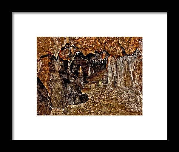 Cave Framed Print featuring the photograph Entrance. Florida Caverns. by Chris Kusik
