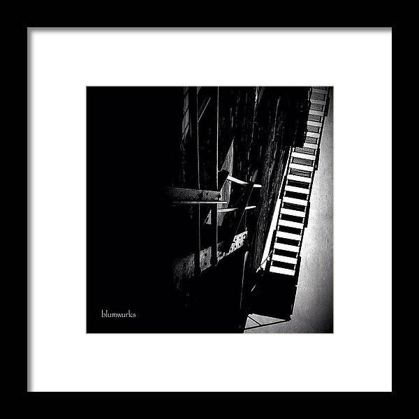 Jj Framed Print featuring the photograph Escaping The Darkness by Matthew Blum
