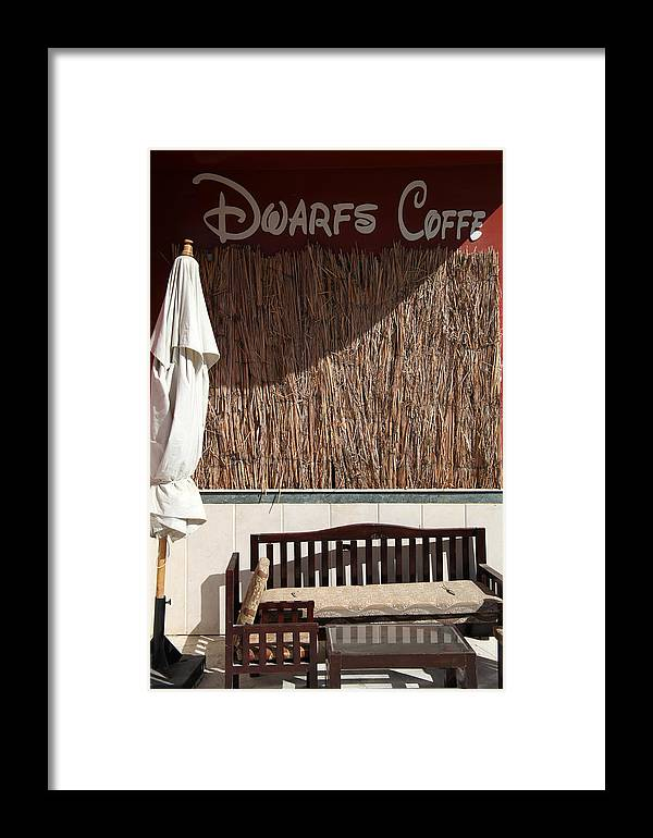 Jezcself Framed Print featuring the photograph Espresso by Jez C Self