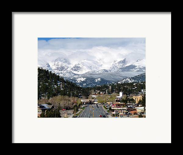 Tranquil Framed Print featuring the photograph Estes Park In The Spring by Tranquil Light Photography