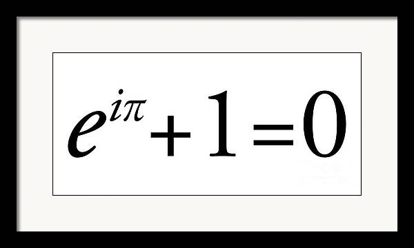 Euler's Identity by Science Photo Library