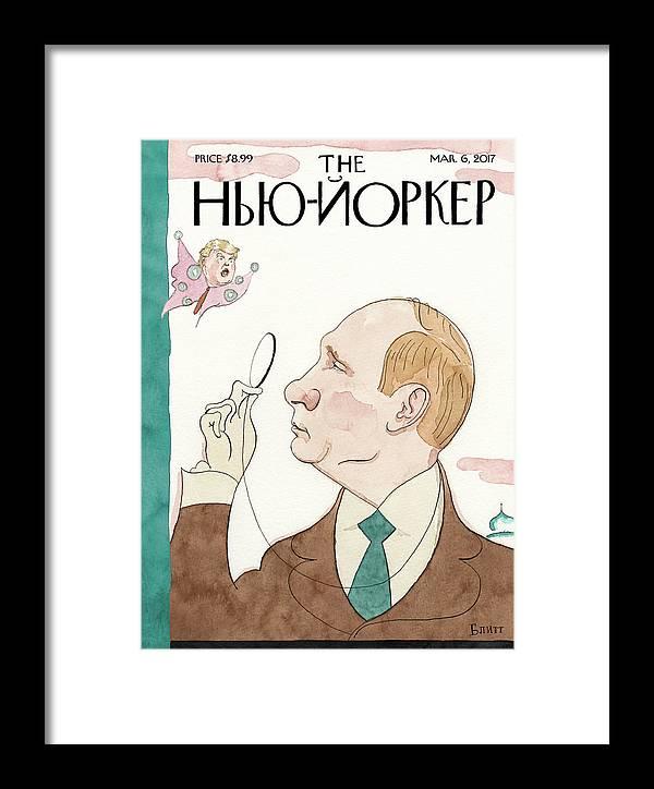 Eustace Vladimirovich Tilley Framed Print