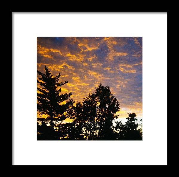 Sunset Framed Print featuring the photograph Evening by Bernard Barcos