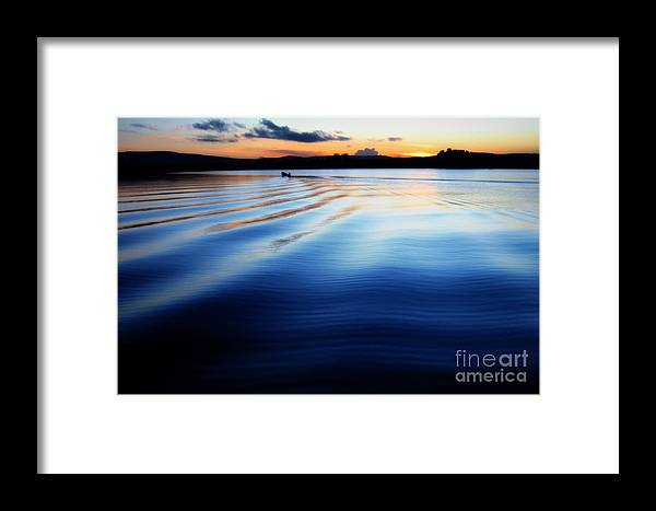 © Annie Japaud 2013 Framed Print featuring the photograph Evening Peace by Annie Japaud
