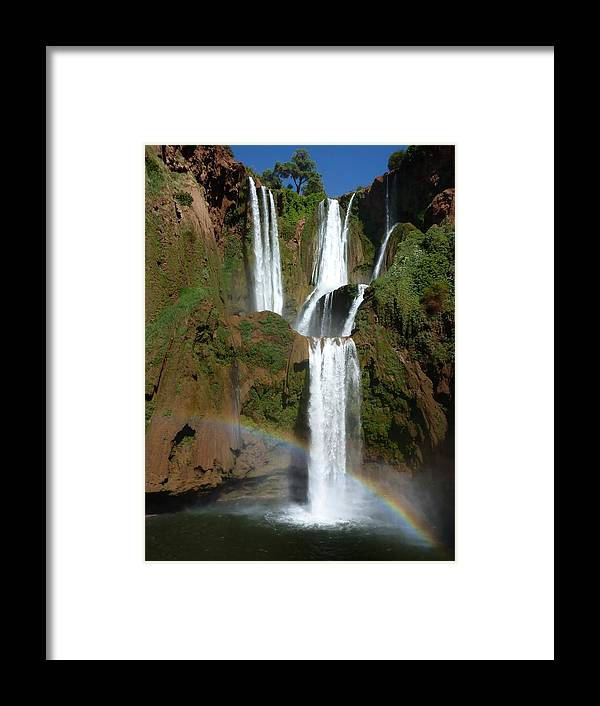 Morocco Framed Print featuring the photograph Every Teardrop Is A Waterfall by A Rey