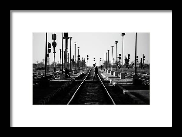 Man Framed Print featuring the photograph Everyday by Julien Oncete