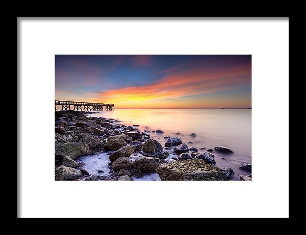 Dawn Framed Print featuring the photograph everytime I wake by dKi-photography