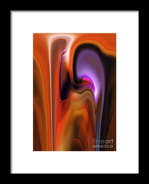 Finance Framed Print featuring the painting Exchange by Christian Simonian