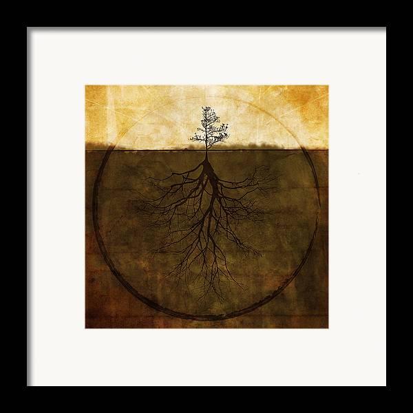 Brett Framed Print featuring the digital art Exemplar by Brett Pfister