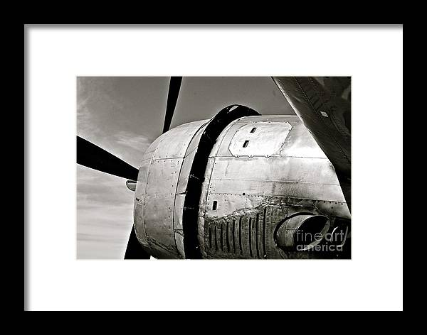 Black Framed Print featuring the photograph Exhausted by AK Photography