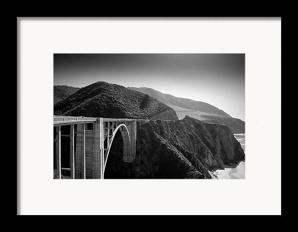 Bixby Framed Print featuring the photograph Explore by Mike Irwin