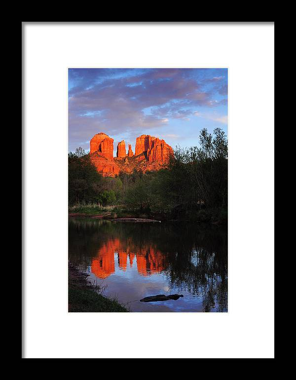 Sedona Framed Print featuring the photograph Explorer's Delight In Sedona by Kate Livingston