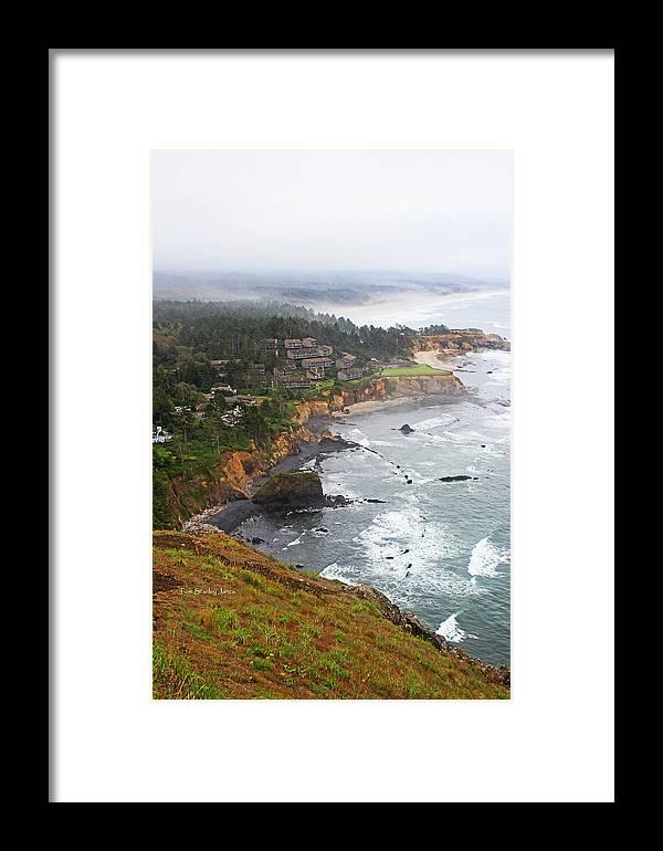 Exploring The Oregon Coast Framed Print featuring the photograph Exploring The Oregon Coast by Tom Janca