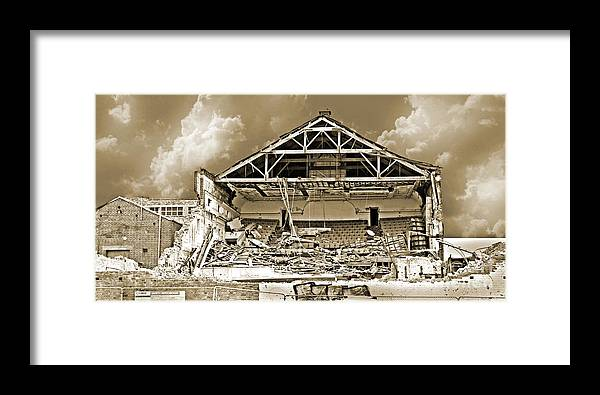 Exposed Framed Print featuring the photograph Exposed To The Elements by Nareeta Martin