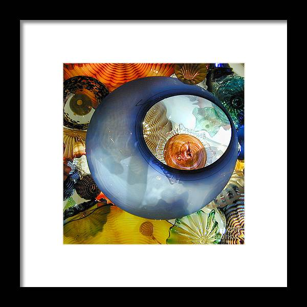 Glass Framed Print featuring the photograph Eye In The Sky by Paul Eggermann