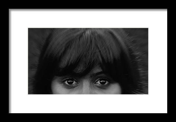 Girl Framed Print featuring the photograph Eyes by Pavlo Kuzyk