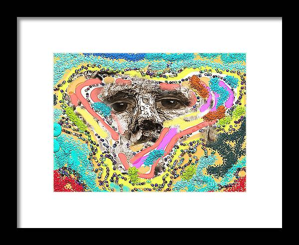 Imagination Framed Print featuring the photograph Eyes Sculp by Yury Bashkin