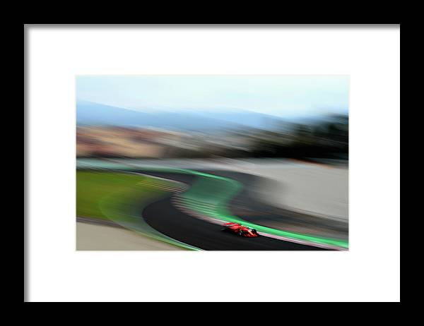 Catalonia Framed Print featuring the photograph F1 Winter Testing In Barcelona - Day by Patrik Lundin