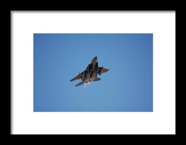 F15 Eagle Framed Print featuring the photograph F15 Eagle by Todd Elliott