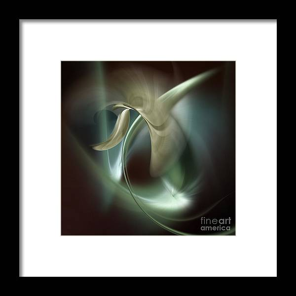 Moment Framed Print featuring the digital art Fabula Vii by Diuno Ashlee