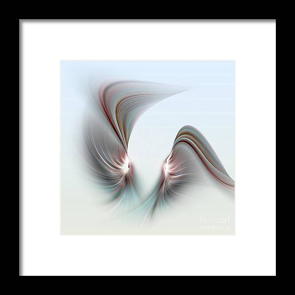 Right Now Framed Print featuring the digital art Fabula Xvii by Diuno Ashlee