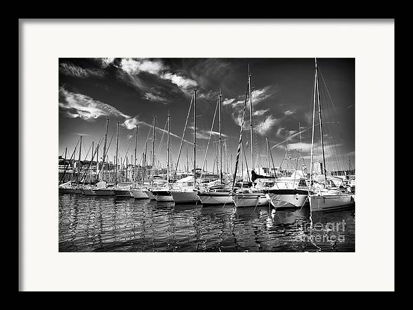 Facing North Framed Print featuring the photograph Facing North by John Rizzuto