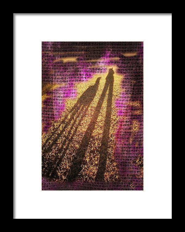 Modern Art For Sale Online Framed Print featuring the photograph Facing The Sun by Ernestine Manowarda