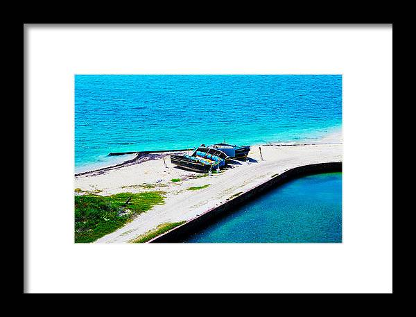 Landscape Framed Print featuring the photograph Failed Journeys by Stephie Carr
