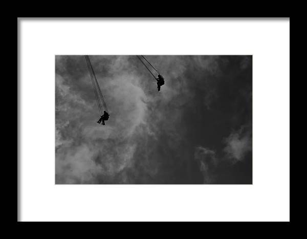 Circus Framed Print featuring the photograph Fairground by Philip Cornish