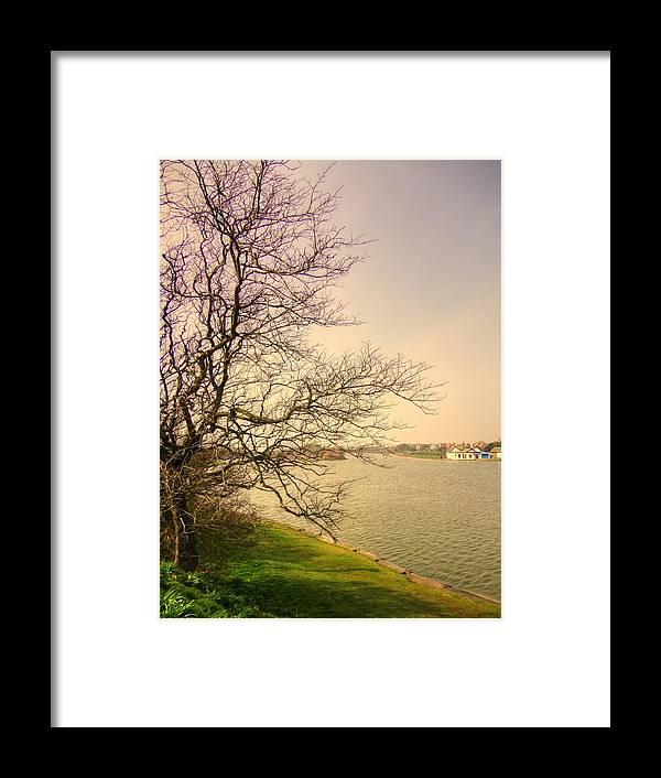Fairhaven Framed Print featuring the photograph Fairhaven Lake by Jacqui Kilcoyne
