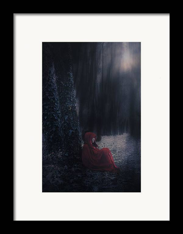 Woman Framed Print featuring the photograph Fairy Tale by Joana Kruse