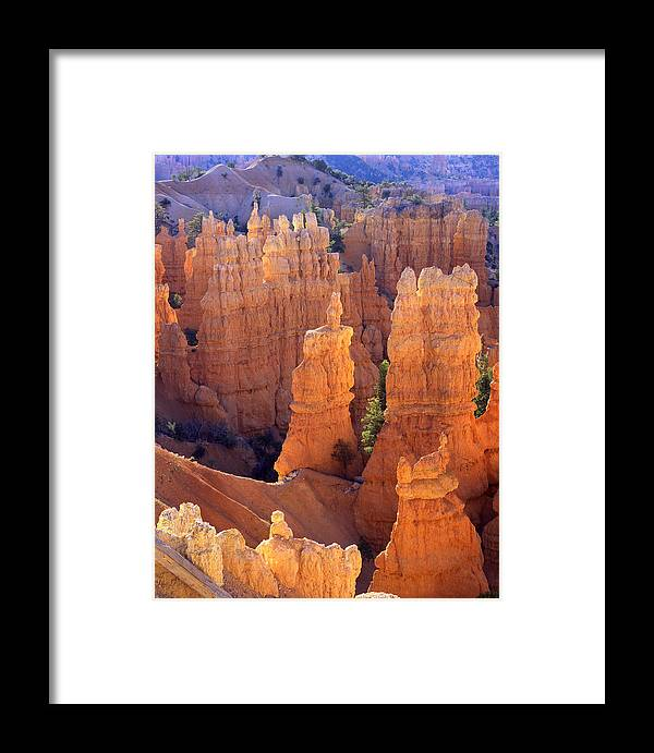 Bryce Canyon National Park Framed Print featuring the photograph Fairyland Overlook by Ray Mathis