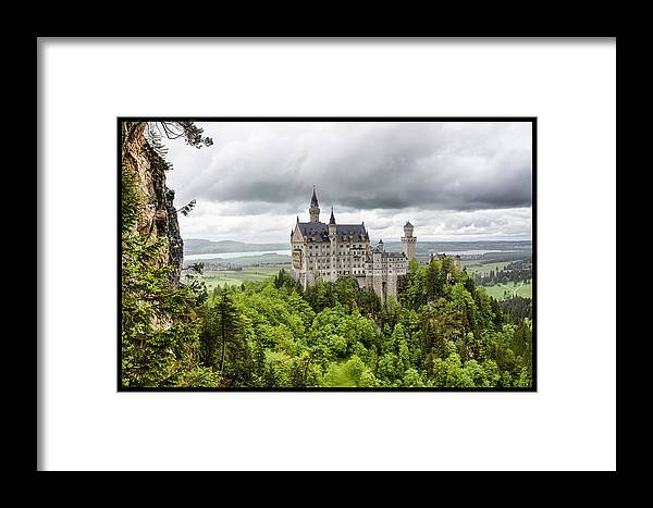 Neuschwanstein Castle Framed Print featuring the photograph Fairytale by Jason Wolters
