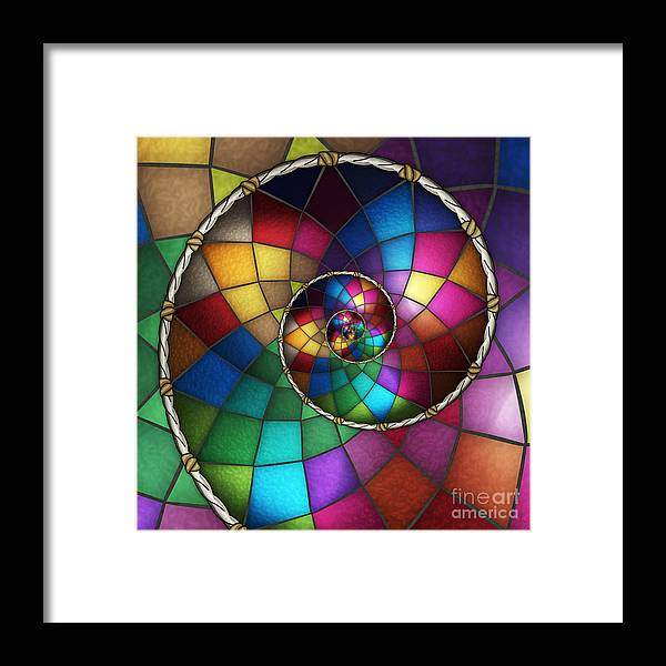 Faith Framed Print featuring the digital art Faith Catcher by Shawn Young