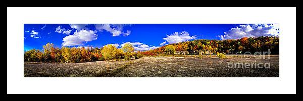 High Cliff Framed Print featuring the photograph Fall All Around by Mark David Zahn Photography