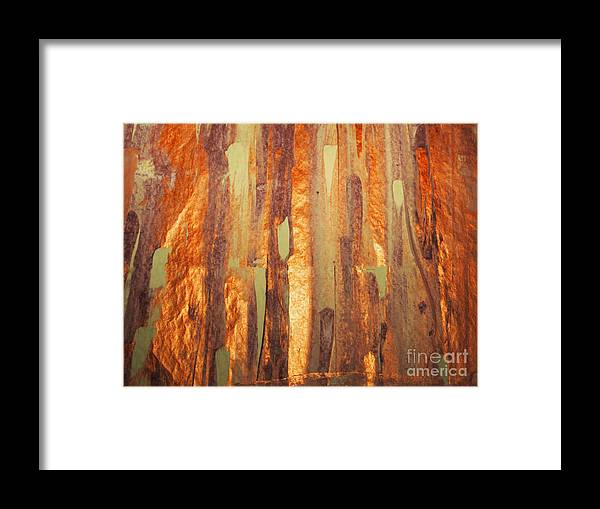 Acrylic On Paper Framed Print featuring the mixed media Fall Day by Jacklyn Duryea Fraizer