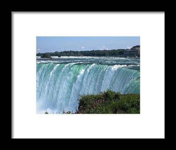 Landscape Framed Print featuring the photograph Fall by Dervent Wiltshire