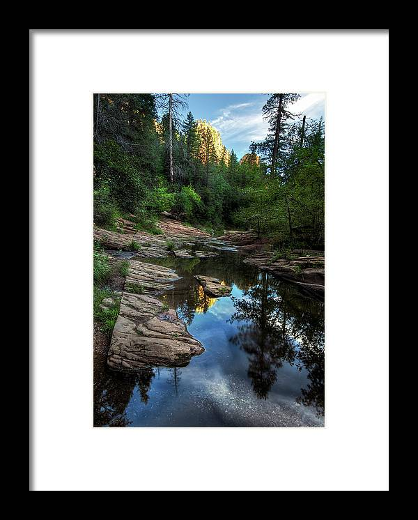 Tranquility Framed Print featuring the photograph Fall Is Right Around The Corner In by Image By Sean Foster