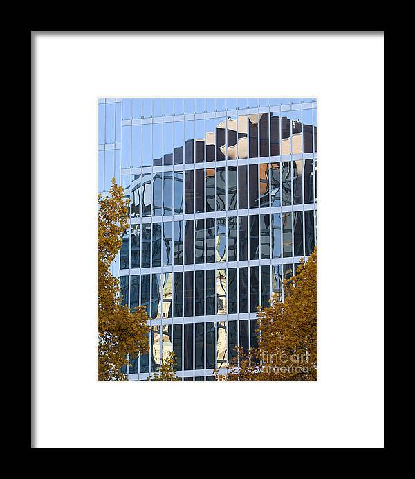 Reflections Framed Print featuring the photograph Fall Reflections II by Chris Dutton