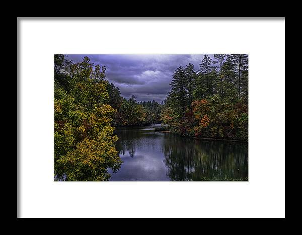 2012 Framed Print featuring the photograph Fall River Scene by John Kirwin