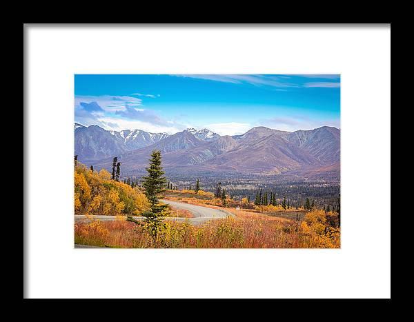 Landscape Framed Print featuring the photograph Fall Time by Tyler Olson
