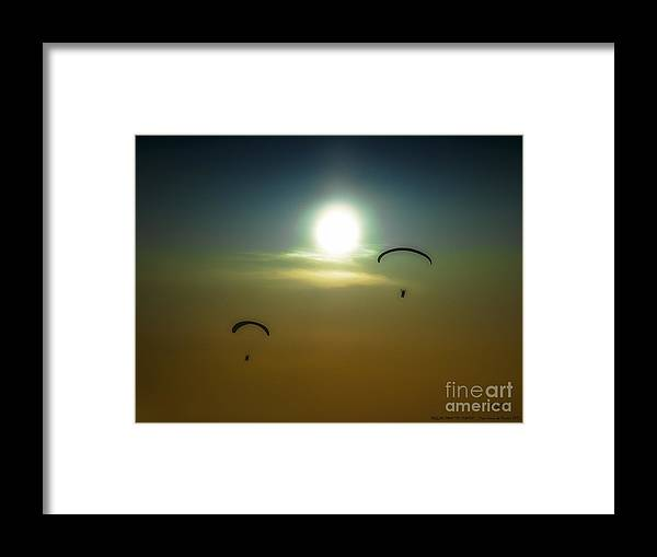 Nature Framed Print featuring the photograph Falling From The Heavens by Pedro L Gili