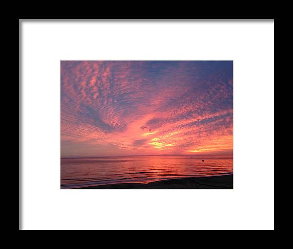 Sunset Framed Print featuring the photograph Falling In Love by Angelica -Gel Studios