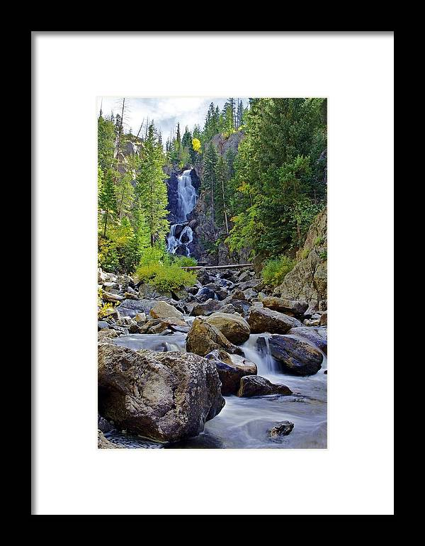 Steamboat Springs Framed Print featuring the photograph Falls In Fall by Matt Helm