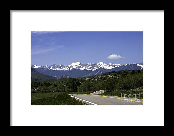 Road Trip Framed Print featuring the photograph Family Vacation by Martha Burger