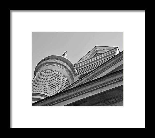 Detail Framed Print featuring the photograph Farmhouse Detail by Todd Hartzo